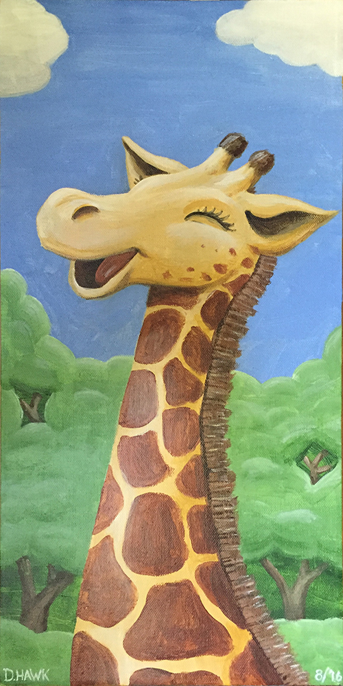 happy giraffe